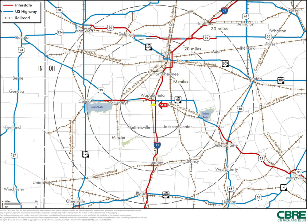Transportation Interstate And US Highway And - Us highway map pdf